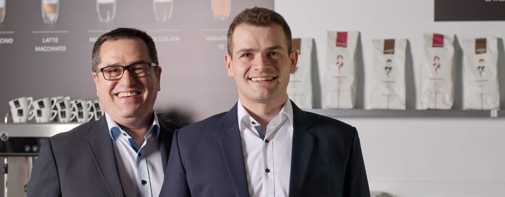 Christian Fuchs und Siegfried Fuchs, Geschäftsleitung von BEVERO und der PREMO GROUP