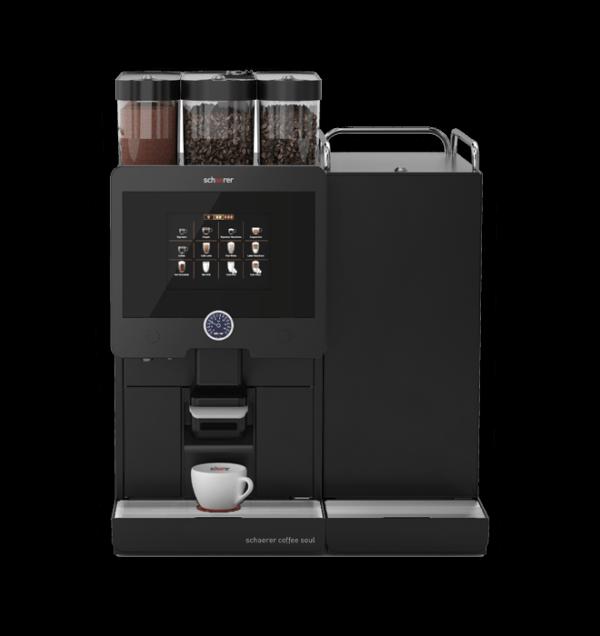 Schaerer Coffee Soul verbindet sportliches Design mit attraktivem Gastronomie-Look