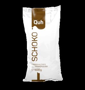 QUH Schoko mit einem Kakao-Anteil von 15 % ist das Richtige für alle, die es gern süß mögen
